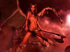 É a isto que adoramos: o Diabo na forma do SEXO, ou seja: do PRAZER a qualquer custo.