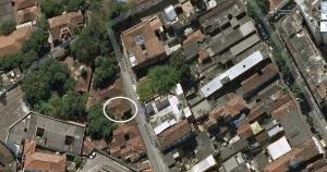Casa de minha tia Sinhá, em Santa Teresa, Rio de Janeiro.