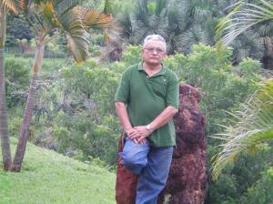 Um momento de comunhão com a Natureza. Clube dos Advogados, em Goiânia.
