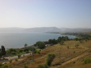 Eis uma foto postada no Google, do Mar da Galiléia ou Yam. Aqui se deu uma das aparições de Jesus a Seus discípulos.