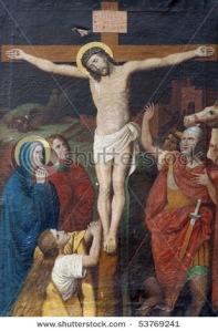 Todos nós, um dia teremos de subir nosso calvário e sermos crucificados. Mas tal e qual o Filho do Homem, não devemos pensar nem sentir solidão. Devemos sempre lembrar que o Pai está conosco.