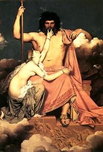 Zeus imperou por uns tempos entre os judeus. Depois, travestido de Júpiter, também mandou e desmandou entre os romanos. Os judeus o detestavam.