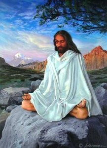Como Jesus falou com o Pai enquanto estava no escuro, sobre o topo de um morro que se acreditava assombrado pelo diabo? Ninguém sabe.