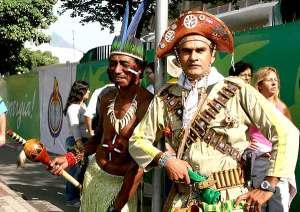 Os cangaceiros não foram criação do Lampião. Era assim que os caboclos de antigamente se vestiam nos sertões do Piauí e do Maranhão.