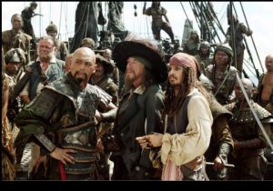 Piratas, hoje, só em filmes. Mas estes retratam como eram os verdadeiros.