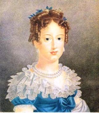 Ela era destituída de todo atrativo feminino, mas era inteligente e foi um braço forte ao lado de Dom Pedro.