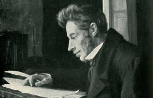Kierkegaard, um dos mais conceituados Existencialistas.