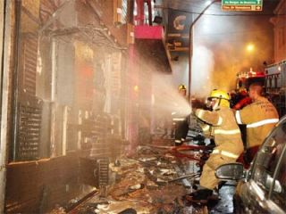 Incêndio na boate Kiss, em Santa Maria.