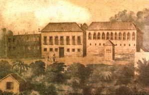 Assim era o Palácio da Quinta da Boa Vista no tempo de Dom Pedro.