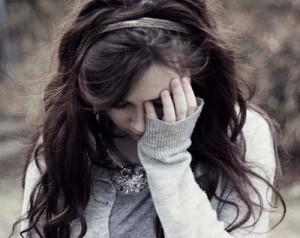 Lágrimas não sensibilizam um coração empedernido.