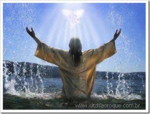 Ele orava assim, em êxtase e todo entregue Àquele que não tem nome. Quando orava, Ele era um com Seu Pai.