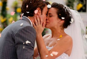 O sancionamento da união homem-mulher pela sociedade realiza-se no rito do casamento.