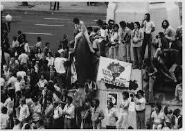 Estudantes membros da UNE - 1964. Muito ardor, nenhuma sapiência...
