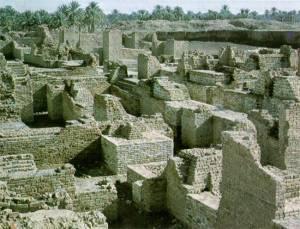 As ruínas de Gomorra.