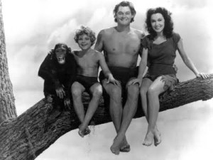 Ele nunca deixou de ser meu Tarzan.