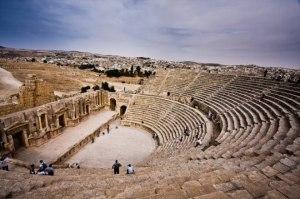 Restos do Anfiteatro de Gomorra.