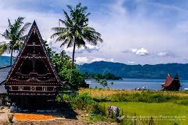 As paisagens em Sumatra são deslumbrantes.