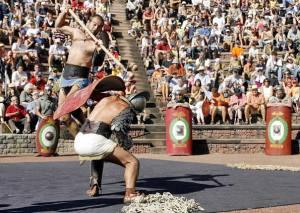 Treinados para matar. Eram os gladiadores de Roma.
