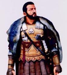 O Decurião Romano tinha estas vestes.