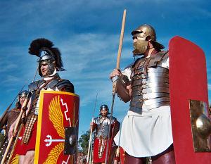 Legionários romanos. Os mais temidos guerreiros do passado.