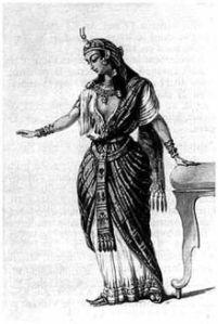 Míriam de Magdala era acostumada a se vestir com o maior luxo que sua época permitia a uma cortesã.
