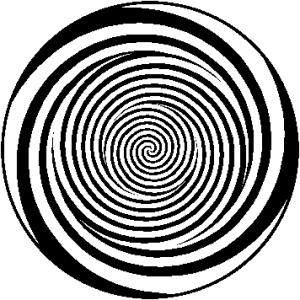 Numa espiral, se assinalarmos um ponto em uma de suas curvas e traçarmos uma linha reta para cima ou para baixo, vamos encontrar sempre pontos que lhe correspondem. Assim é a Espiral da História Evolutiva Humana.