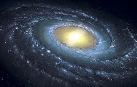 A belíssima Via Láctea, local onde está o planetinha em que vivem e evoluem  os seres humanos.