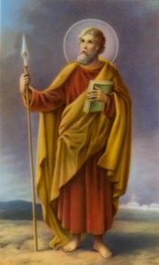 Assim a Igreja imagina que fosse o Apóstolo Tomé.