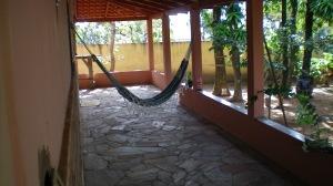Gosto muito de dormitar na rede ouvindo o sussurro das folhas das mangueiras...