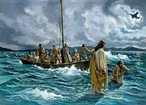 Narraram na Bíblia que Ele andou sobre as águas, mas Ele não dava espetáculos circenses.