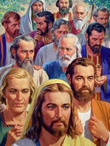 Ele sempre seguia à frente de seus discípulos. Parecia desejar sempre caminhar sozinho.