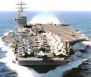 O assombroso Nimitz, o porta-aviões mais poderoso dos EUA e do Mundo.
