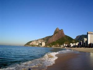Praia do Leblon, Rio de Janeiro. Ali vivi a parte mais intensa de minha juventude...