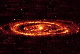 Uma Galáxia em que predominam os Átomos Ultérrimos de cor Vermelha.