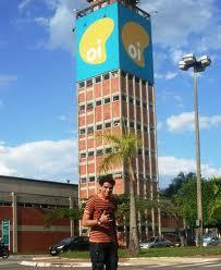 Uma visão do complexo da OI, antiga Brasiltelecom, em Goiânia.