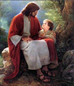 As crianças o buscavam naturalmente. E ele as acolhia com carinho e cuidado.