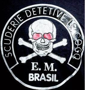 Esta caveirinha era o terror para os bandidos do Rio de Janeiro, na época em que a Le Cocq não tinha sido tomada pelos criminosos.
