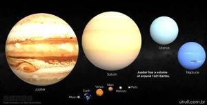 """Dentro mesmo de nosso Sistema Solar, nossa """"casa celeste"""" é muito pequena. Mas será mesmo?"""