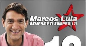Este é o filho do Lula. Assim como o pai, ele, antieticamente, age contra tudo o que é bom e moral na Política. E já é vereador. Pudera!