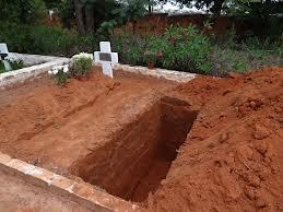 Um buraco como este é o destino de todos, mas ninguém o quer ver por perto...