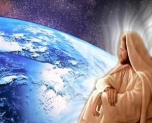 Esta representação inconscientemente caracteriza o Ser Humano diante do Mistério Insondável que é a Criação e Seu Criador.