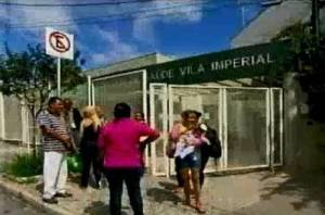 O Centro de Saúde Vila Imperial, no bairro Madre Gertrudes, na região oeste de Belo Horizonte. E é assim por todo o nosso país.