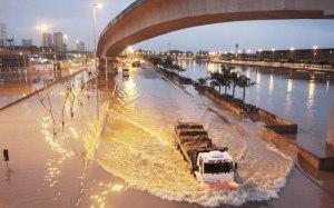 Em São Paulo chove demais onde não é preciso...