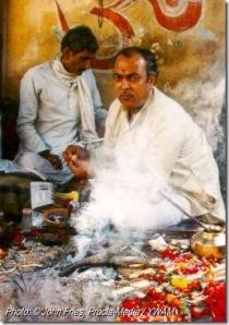 Anjum, um brâmane moderno na Índia de nossos dias.