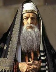 José Caifás, o mais duro e cruel dos rabis do Templo de Jerusalém. Ele mantinha a nação judaica sob rígido controle político-religioso.