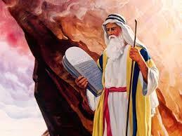 A mítica figura de Moisés, o Legislador dos hebreus.
