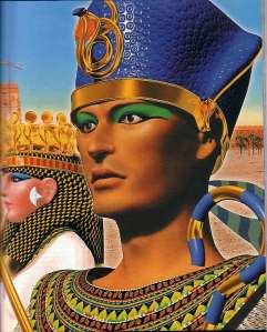 Um Faraó do Egito.
