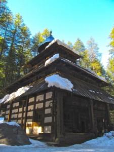 Assim era, como este, o templo no mosteiro de Hemi.