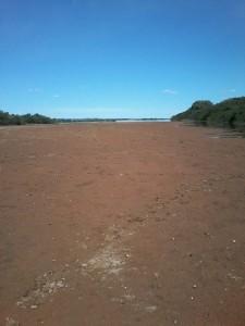 Até o ano passado, por aqui corria o mais bonito rio do Brasil - O Velho Chico...