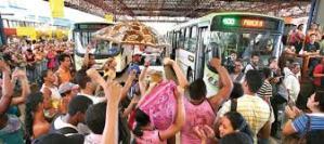 O transporte coletivo em Goiânia. Não difere de qualquer outro lugar do Brasil.